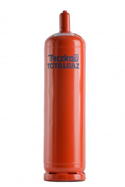 Gasflasche 33 kg Rot, Pfandflasche Propan