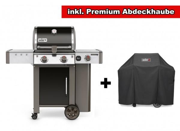 Weber Genesis II LX E-240 GBS Black Ausstellungsstück inkl. gratis Premium Abdeckhaube
