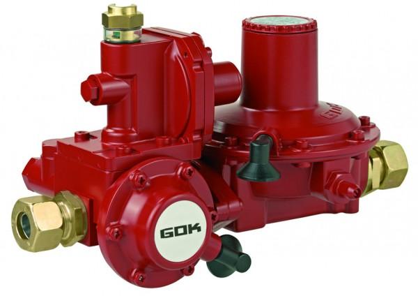 GOK Niederdruckregler IG G 1/2 x IG G 3/4, 12 kg/h, 50 mbar, Typ 052