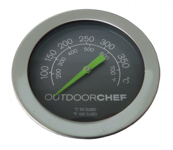 Deckelthermometer Outdoorchef Grün inkl. Mutter