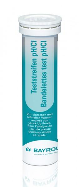 Bayrol Teststreifen pH/Cl (Dose mit 25 Teststreifen)