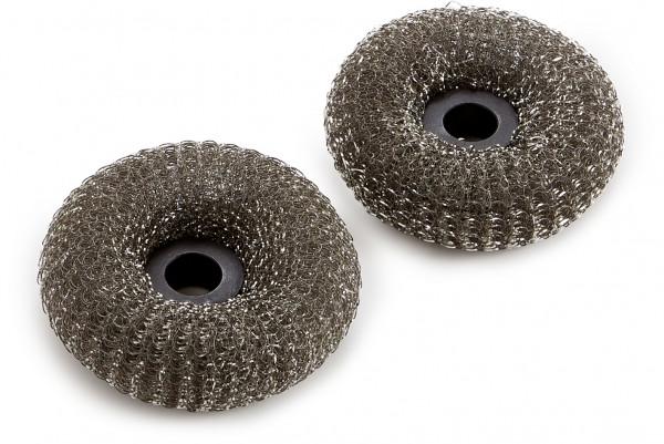 Weber Ersatzköpfe für Grillbürste mit Metallschwamm
