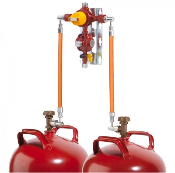Flaschenanlage 2 x 11 kg, 1.5 kg h automatisch