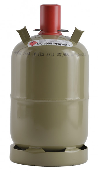 Gasflasche 11 kg Grau, Nutzungsflasche Propan