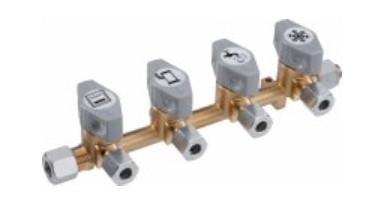 GOK 4-fach Schnellschlussventil Typ DSV-AB