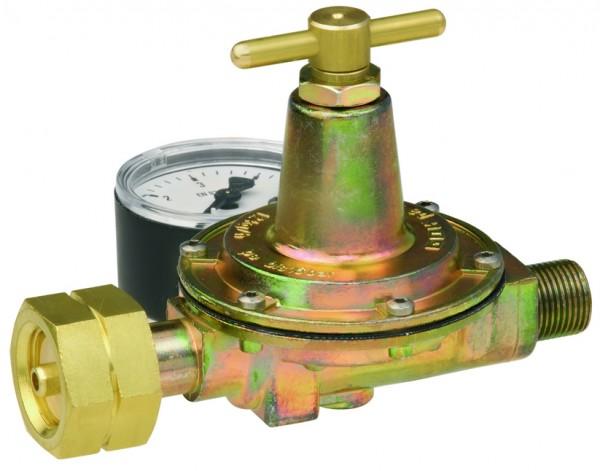 Mitteldruckregler 0,5 - 4 bar m. Manometer
