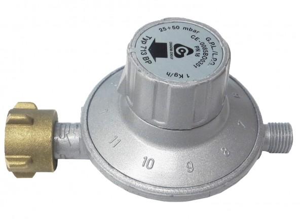 Druckregler verstellbar, 25 - 50 mbar