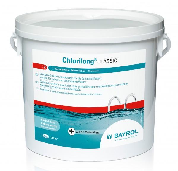 Bayrol Chlorilong Classic 5 kg Eimer mit Clorodor Control Kapsel